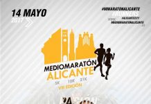Cartel Media Maratón Alicante