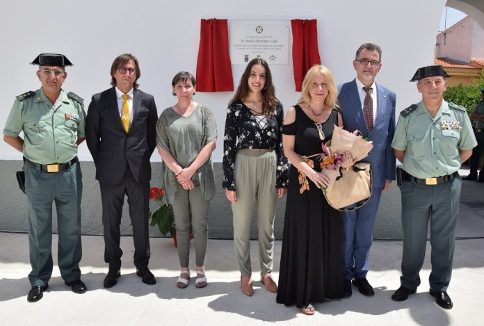 Homenaje al Guardia Civil de Ayora Pedro Martínez Lillo