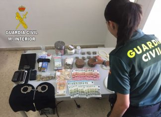 Operación 'entrepà' de la Guardia Civil