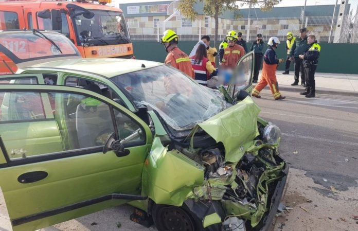 Accidente en Sueca